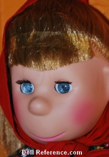 1963 Horsman Poor Pitiful Pearl doll face, 11""