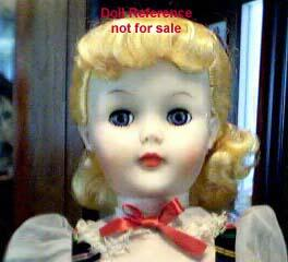 1956 Citro Polly Ponds Beauty doll, 24""