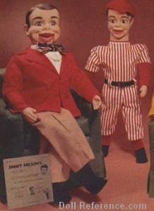 Wards 1972  Danny O'Day ventriloquist puppet doll or vent figure, 24""