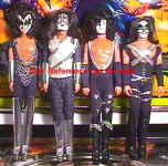 Mego 1978 KISS Rock Group dolls, 12 1/2""