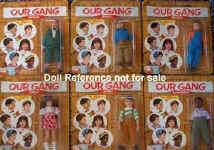 1975 Our Gang dolls, 6""