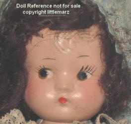 1930s-1940s Magic Light Lumia Doll, 9""