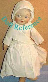 Mollye Nurse doll, all cloth doll, mask face