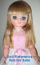 1965 F & B Miss Chips doll, 18""