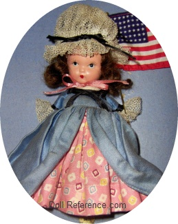 Nancy Ann Storybook 1938 Colonial Dame doll