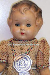 Natural Doll Ritzy Chubby Baby doll