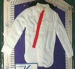 Pak White Dress Shirt 1962-1963