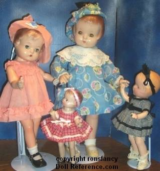 Patsy type look a like dolls