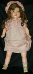 1930s Perfect Toy Marianne doll, 18""