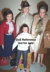 1963 Littlechap Family of dolls