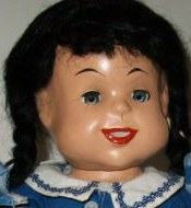 1948 Royal Blue Stores Susie-Q doll 15""