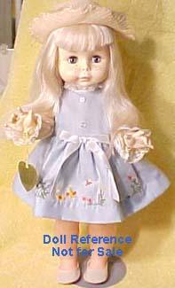F & B 1961 Suzie Sunshine doll, 18""