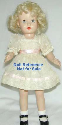 F & B 1951 Tintair Honey doll, 14""