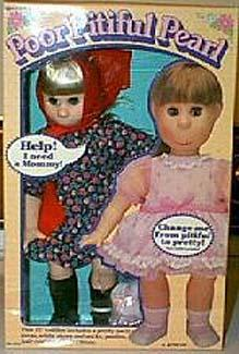 1976 Tristar Poor Pitiful Pearl doll, 16""