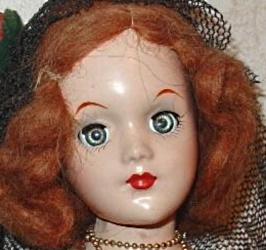 1939 Uneeda Rita Hayworth doll as Carmen, 14""