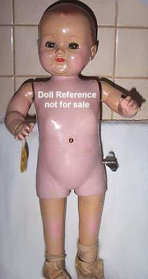 1950 Advance Betsy Walker doll, 20- 21""
