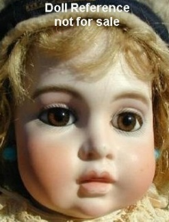 Bru Jne Cie 1868 + Circle Dot Bébé doll, 21""