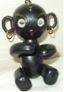1960 Dakkachan embraceable doll, 5""