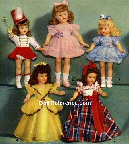 F & B Little Lady doll clothes Wards 1944 pg 76