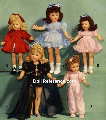 F & B Little Lady doll clothes Wards 1944 pg 77