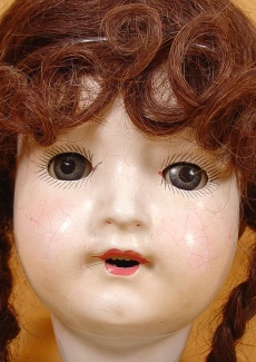 1918-1920 Art Craft Dolly Face doll, 21""