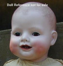 Borgfeldt 1926 Bonnie Babe doll bisque head by ABG