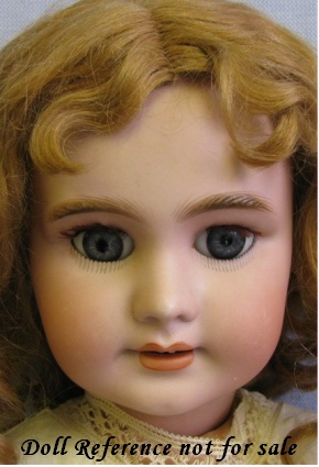 Antique bisque DEP doll face