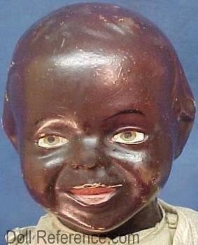 1912 Effanbee Johnny Tu face black boy doll