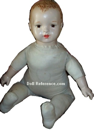 1918 Madame Hendren Life-Like Mama Doll, 24""