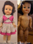 1954 Ideal Posie doll 17""