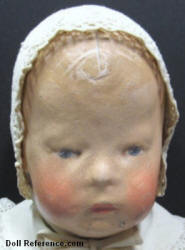 1910 Kathe Kruse boy cloth doll 16""
