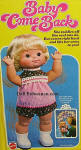 1976 Mattel Baby Come Back doll, 16""