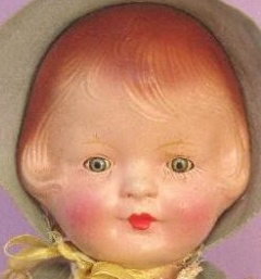 "1931 Regal Doll Mfg. Co. Maizie, 16"", Patsy type doll"