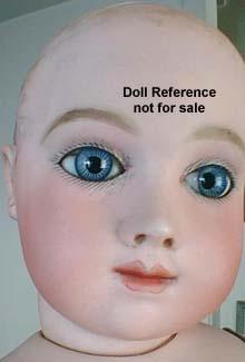 Thuillier child doll face