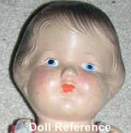 "1930 Toy Products Mfg. Inc. Lil Sis, 13"", Patsy type doll"