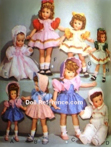 Wards 1942 Effanbee Anne Shirley Little Lady Doll clothes, page 80