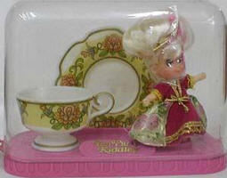 3840 Lady Crimson Tea Set 1969