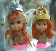 Liddle Kiddle Storybook Sweethearts 3784 Queen and King of Hearts dolls