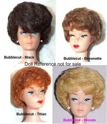 Valuation Haircut : Doll mark: Barbie ? Pats. Pend. ? MCMLVIII by Mattel Inc.