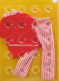 9003 red & white striped pajamas (Sears 1975)
