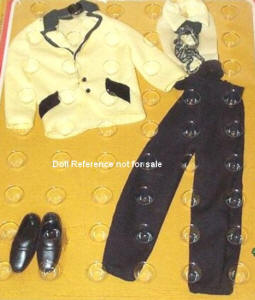 Ken 9596 Yellow Groom outfit 1976
