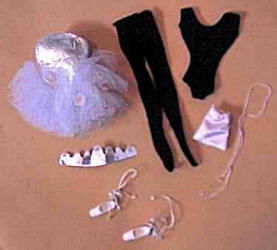 Barbie doll 989 Ballerina 1961-1965