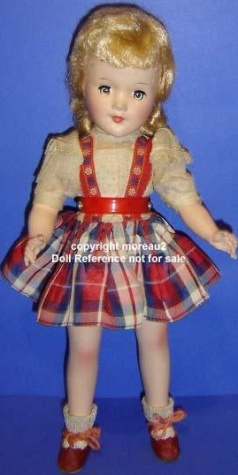 1950s ABC Mary Hoyer type doll 14""