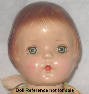 "American Character, Sally, 13"" pastsy type dol"