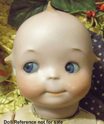 Marseille googly eye doll #240, 12""