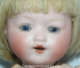 Armand Marseille Our Pet doll, 8 1/2""
