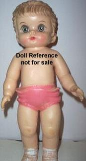 Arrow 1959 Baby doll, 10""