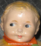 ca. 1916-1920s Averill Dutch Boy doll 12""