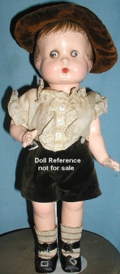 1929 Averill Jimmie doll, 14""