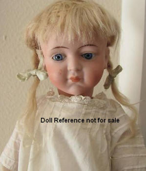 De Fuisseaux Girl doll, 18""